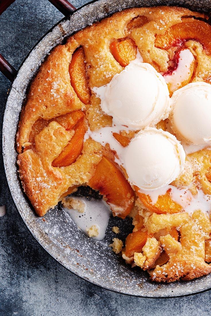 Southern Style Peach Cobbler Recipe King Arthur Flour