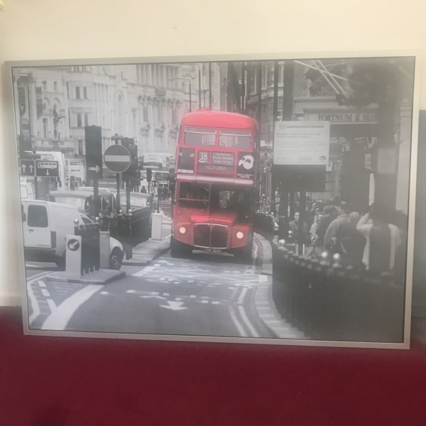 ikea pictures london bus # 42