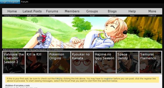 Image of: Anime Series 12 Year Old Top Ranking Dmoz Listed Anime Forum Flippa Animeforumscom Website Sold On Flippa 12 Year Old Top Ranking