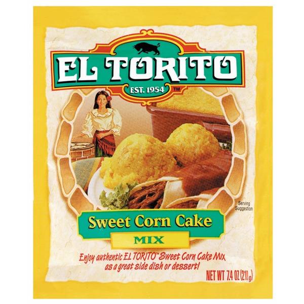Corn El Torito Sweet Cake