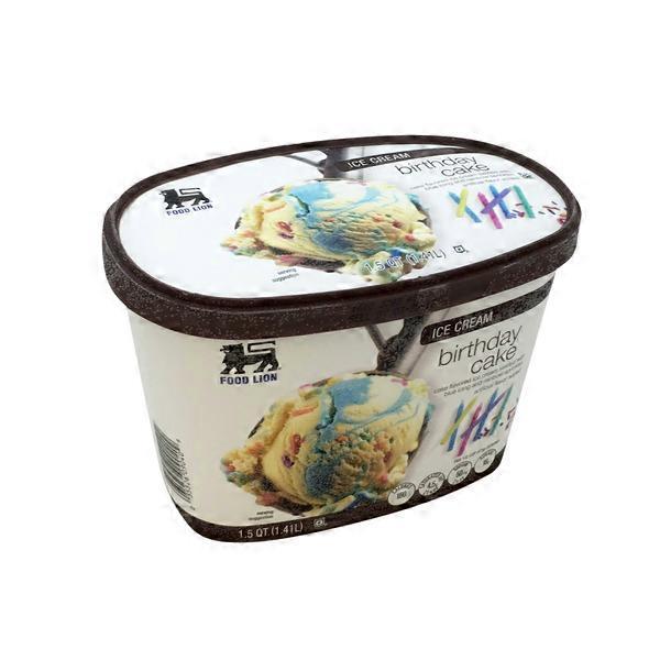Ice Cream Food Lion