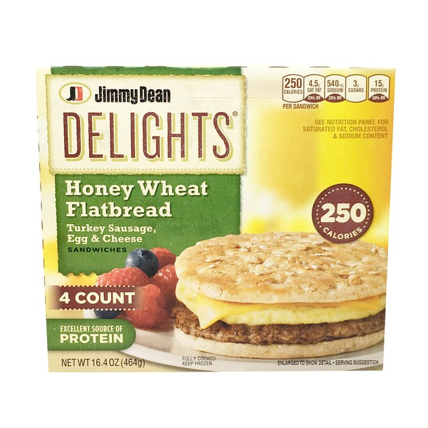 Jimmy Dean Turkey Sausage Sandwich Nutrition