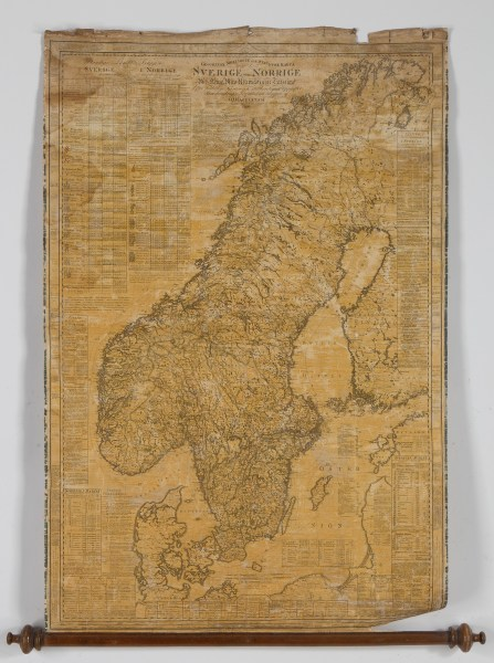 A Swedish military map by Lieutenant O j Hagelstam in 1820    Bukowskis