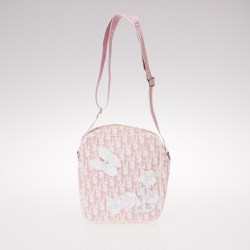 82ffb8e01689 Christian Dior, Pink Monogram Canvas No 1 Trotter Messenger Bag