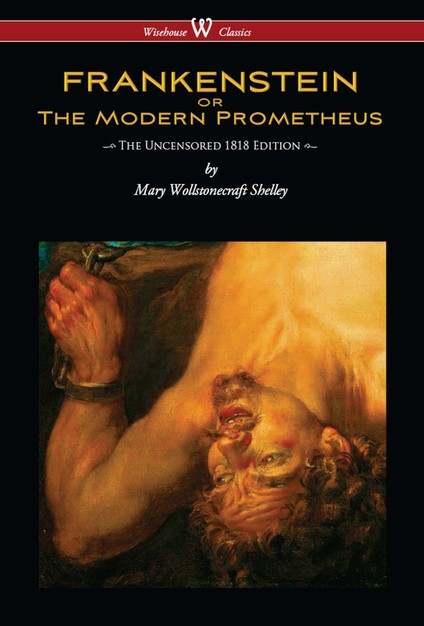 frankenstein or the modern prometheus - 424×626