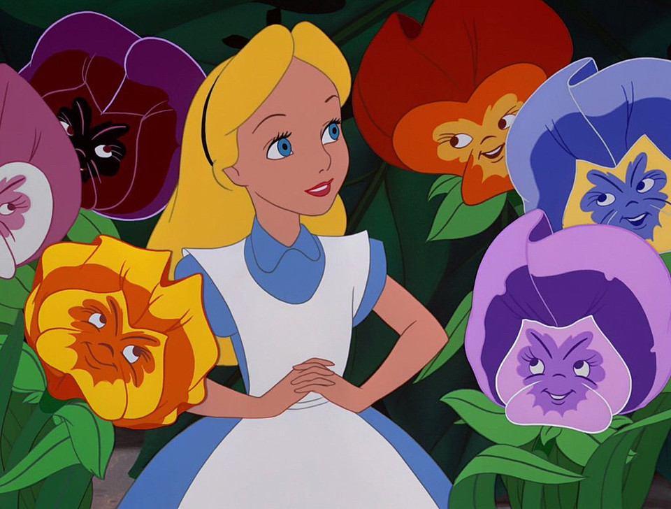 Afternoon Wonderland Flowers Golden Alice