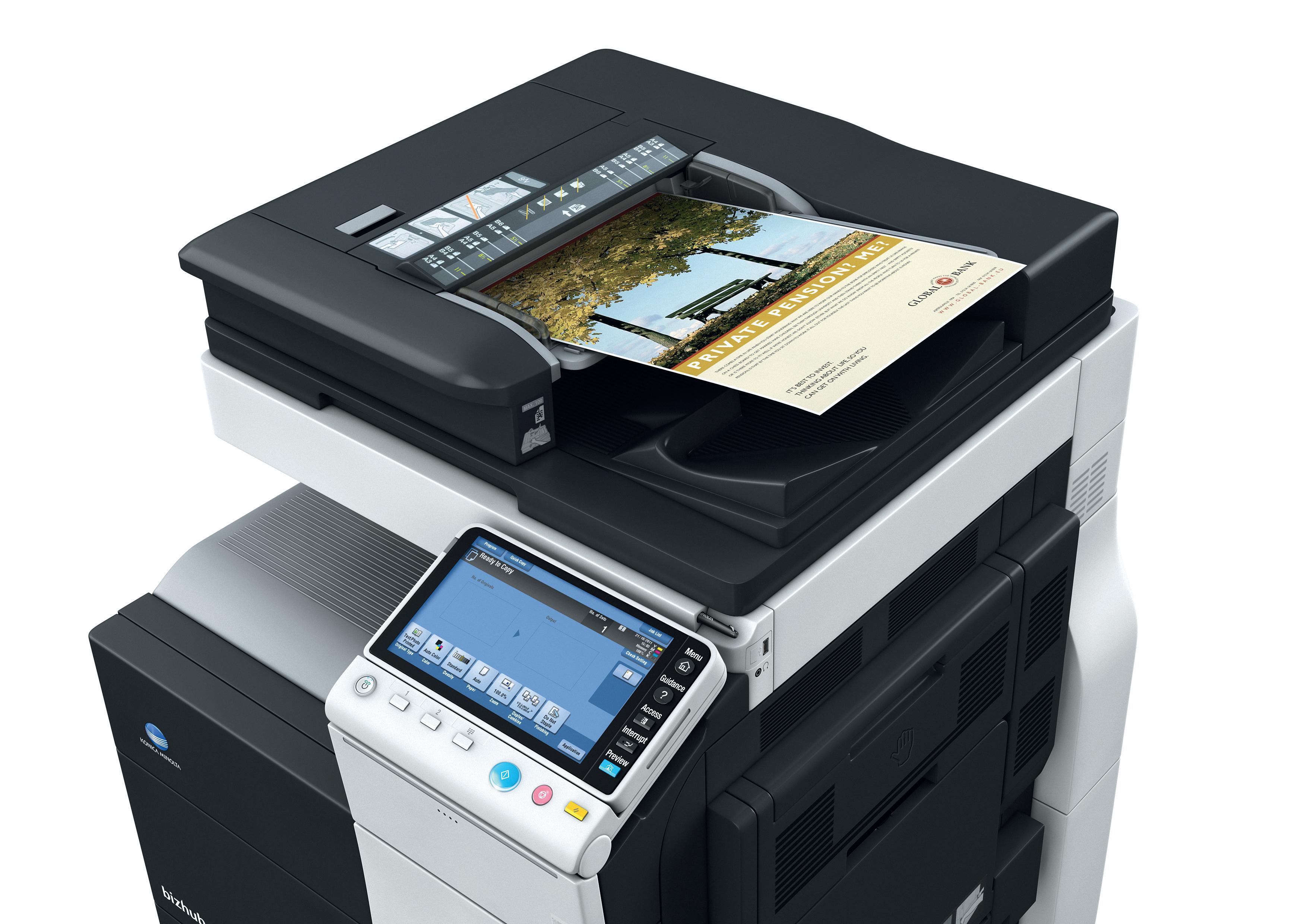 Konica Minolta Bizhub C284 Color Copier Printer Scanner