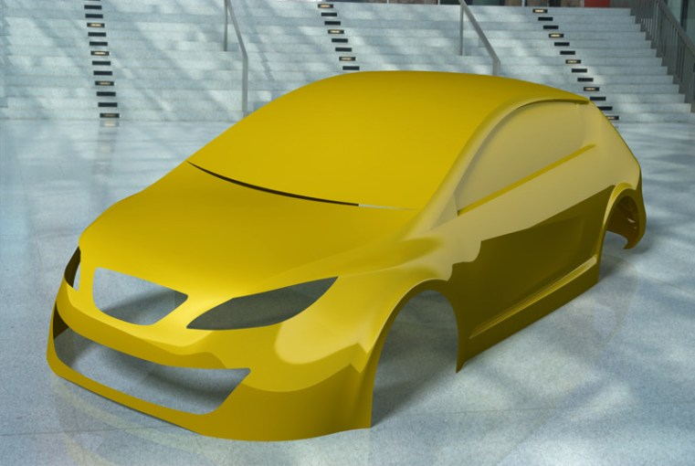 Car body design   3D CAD Model Library   GrabCAD