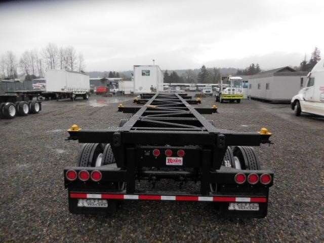 2018 Raja 12 Point 4 Axle Super Chassis Container