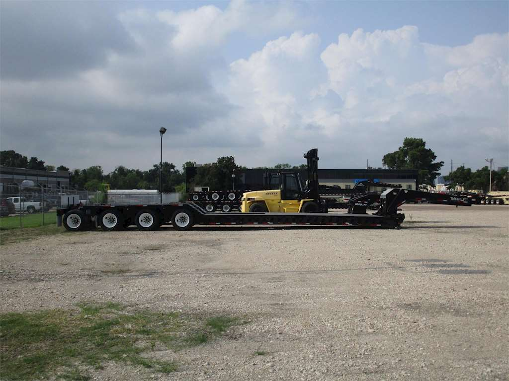 2015 Talbert 55sa Lowboy Trailer For Sale Venus Tx