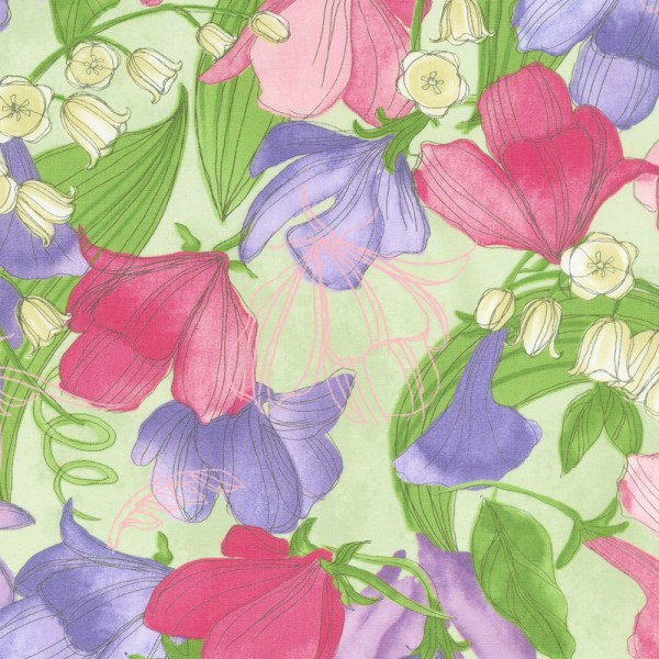 sweet pea lily jelly roll # 71