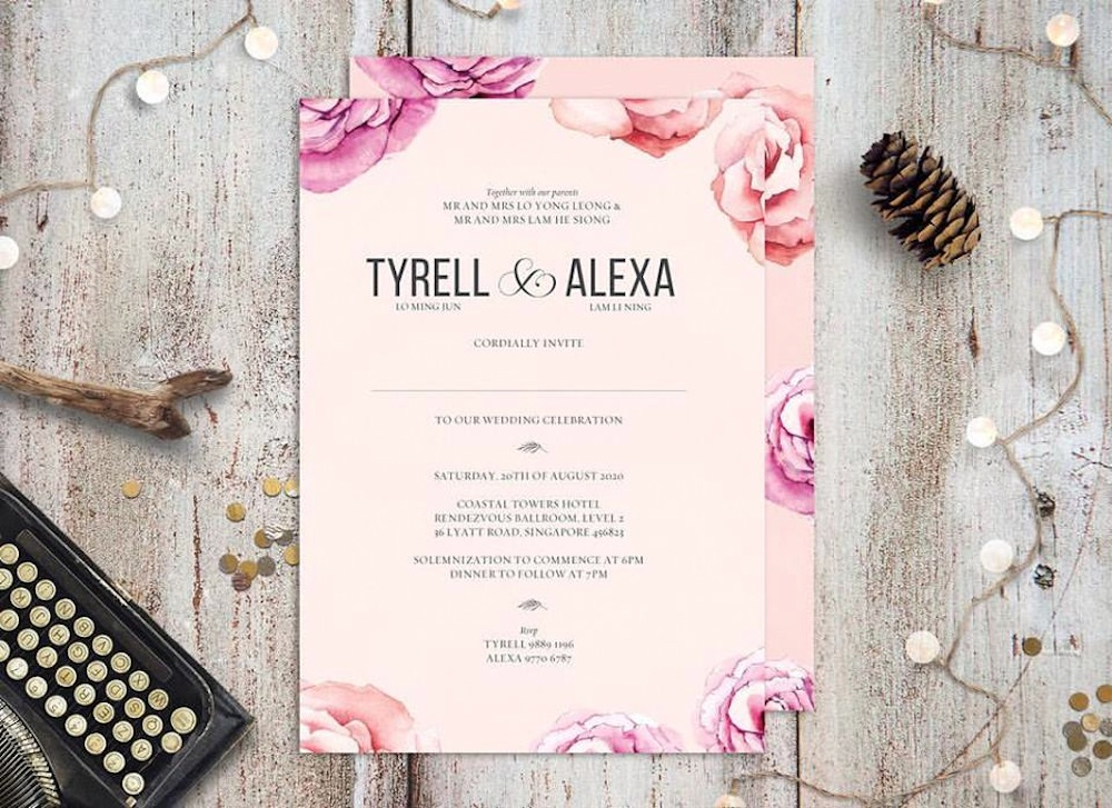 Custom Printed Invitations Online