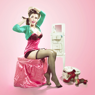 8tracks radio | Soundtrack for a modern Pin Up Girl. (14 ...