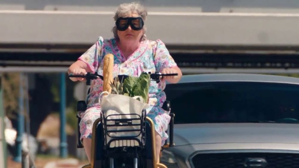 The General Tv Commercial Grandma Scooter Ispot Tv