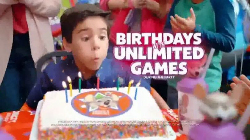 Chuck E  Cheese s TV Commercial   Birthday Parties With Unlimited     Chuck E  Cheese s TV Commercial   Birthday Parties With Unlimited Games     iSpot tv