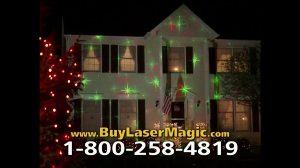 Christmas Laser Light Show