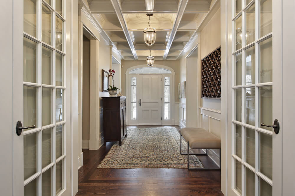 Grand Living Room Entrance Ways