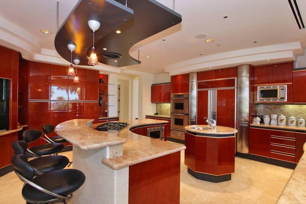 Modern Home Bar Design Layout