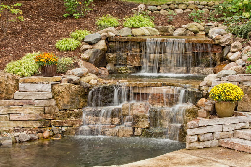 Backyard Ponds And Waterfalls How Build