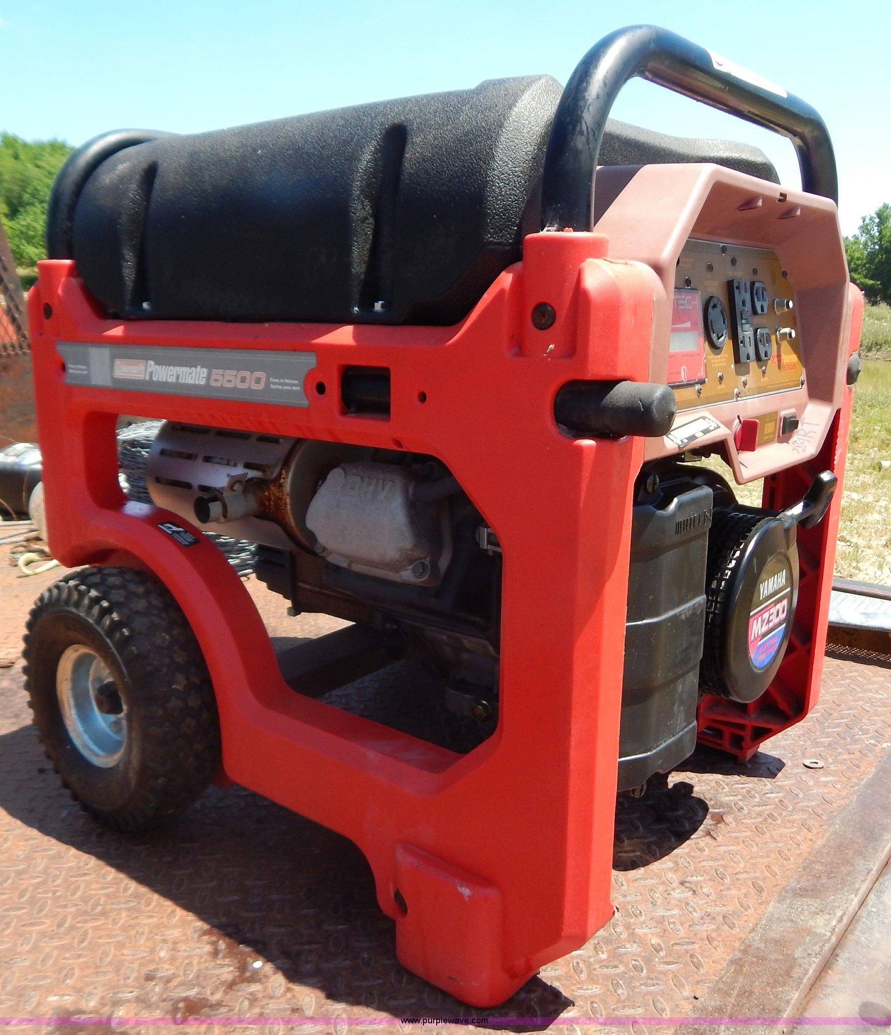 Coleman Powermate 5500 Generator