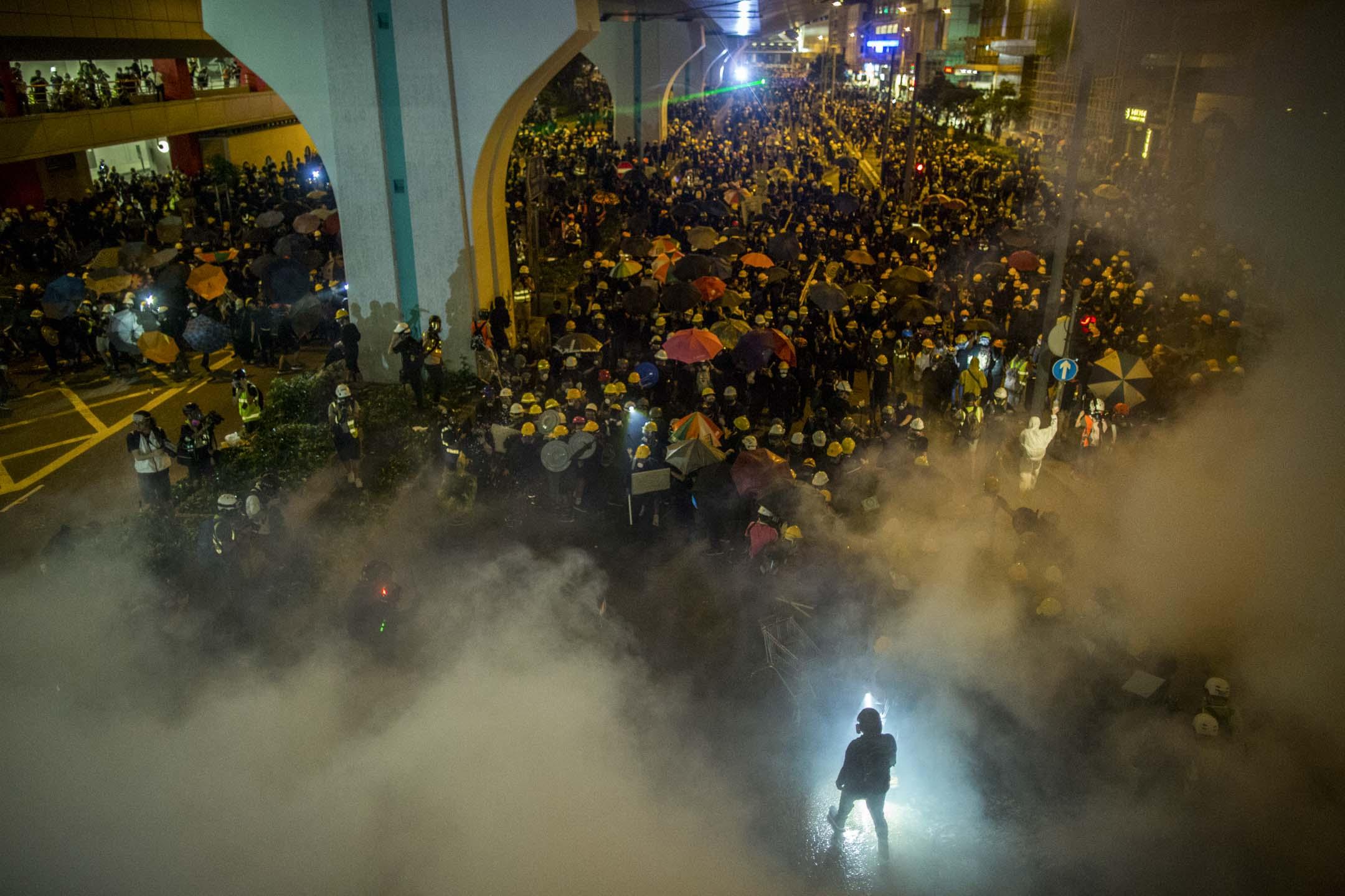 大陆媒体如何报道香港反修例运动?