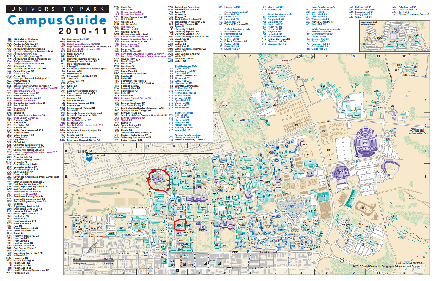 Campus Map Carleton College