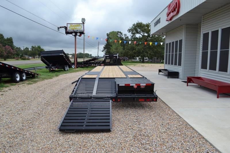 Low Deck Gooseneck Car Trailers