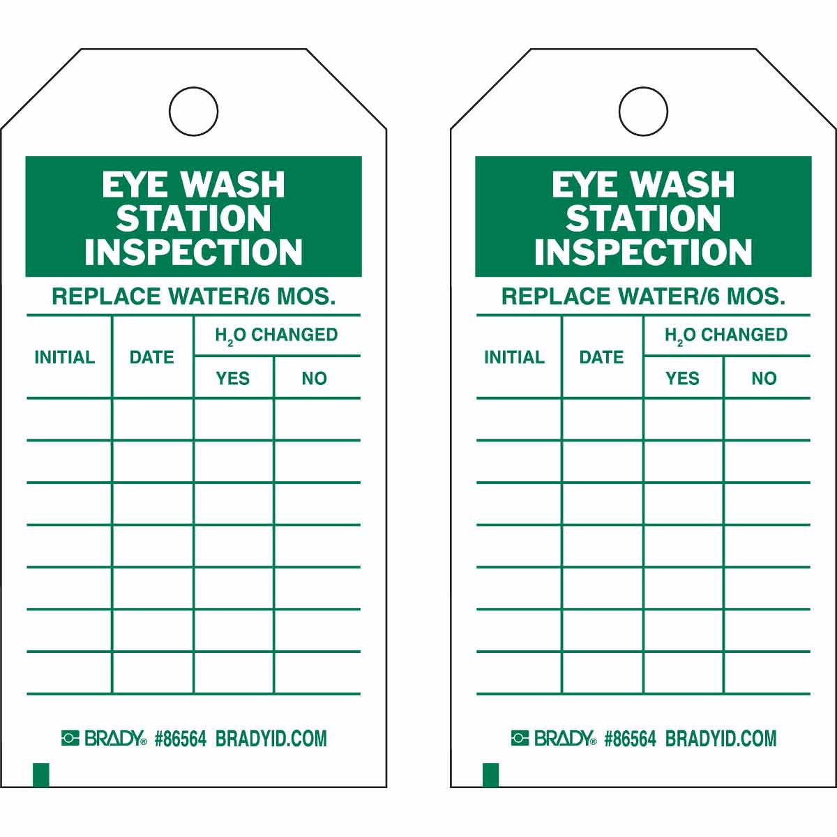 Form Inspection Eyewash