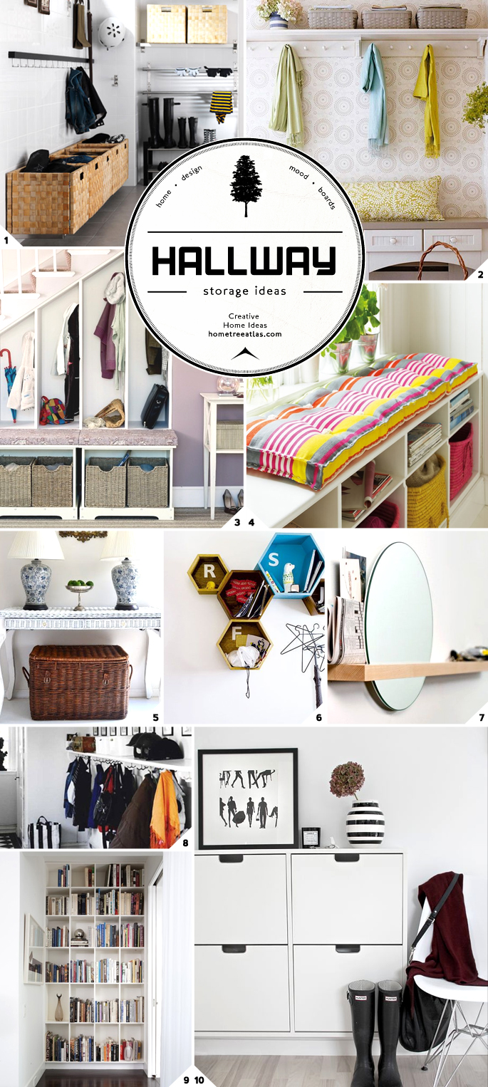 Hallway Storage Ideas For Wide And Narrow Spaces Home