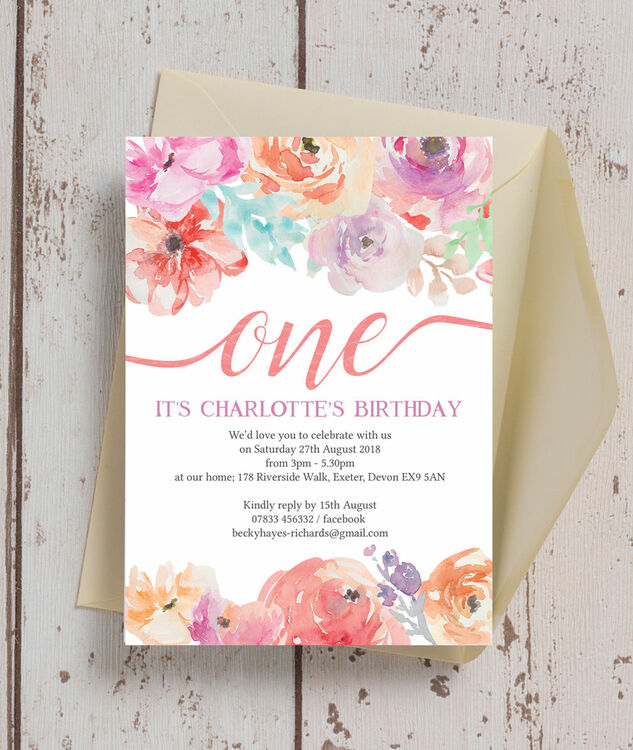 Card Invitation Birthday Party