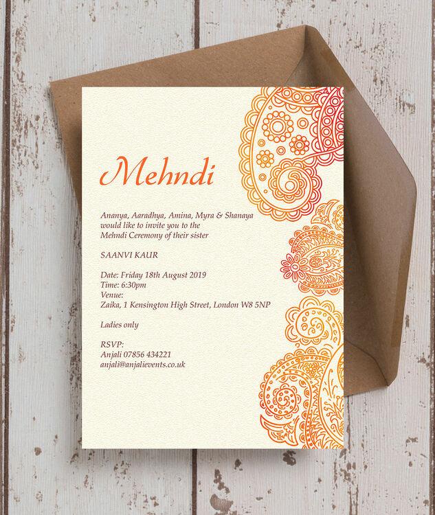 Order Hindu Wedding Invitations Online