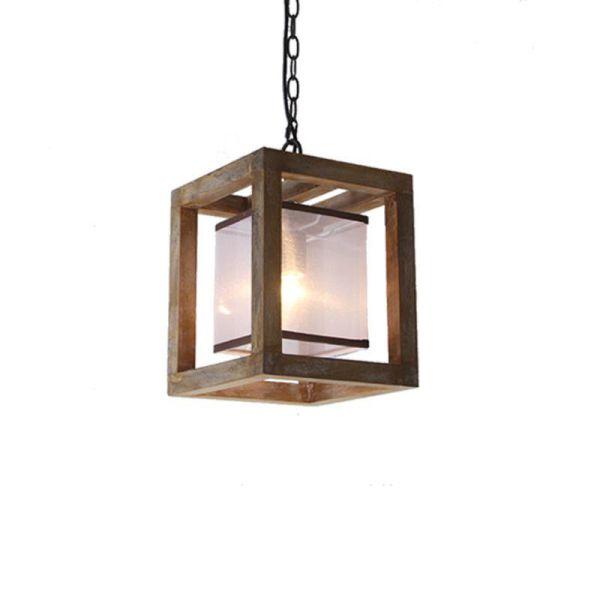 lantern pendant with shade # 36