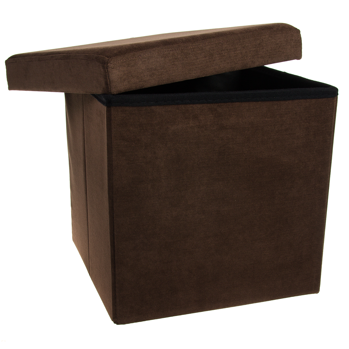 Fabric Storage Ottoman Coffee Table