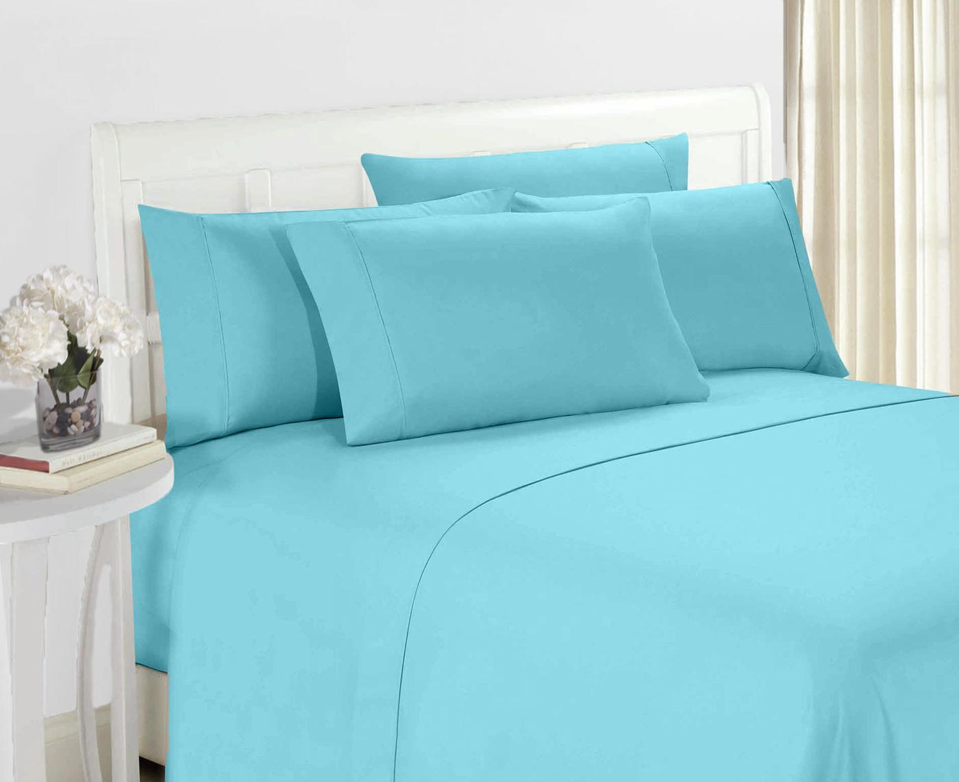 Hotel Super Soft 6 Piece Bed Sheet Set Deep Pockets ...