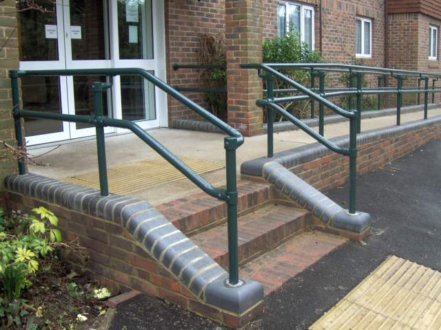 New Series 500 Ada Railing Systems To Build Ada Compliant   Galvanized Pipe Stair Railing   Garden   Plumbing Pipe   Water Pipe   Box Pipe   Deck
