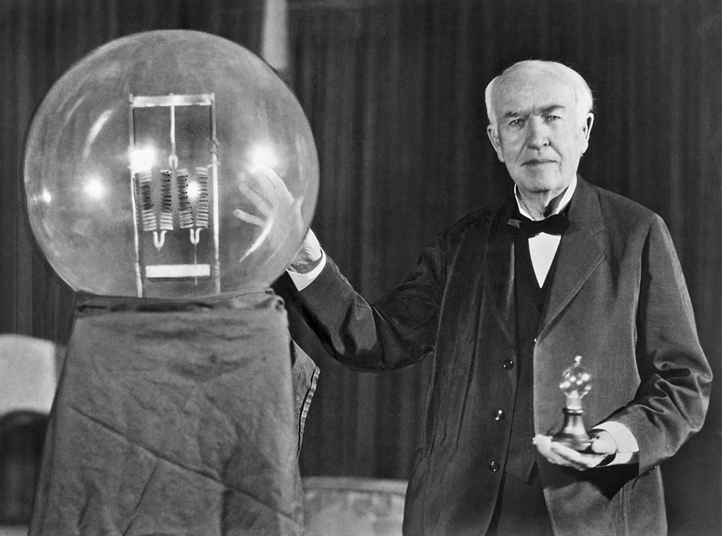 Thomas Edison Light Bulb Invention Date