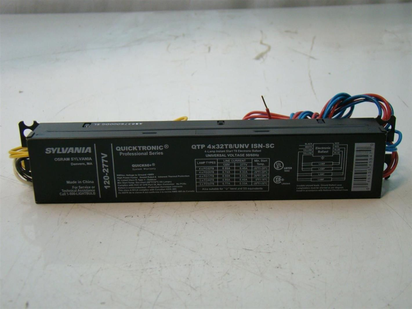Sylvania Quicktronic Ballast Wiring Diagram High 4 Lamp Electronic Funky Image Collection Electrical Professional Series