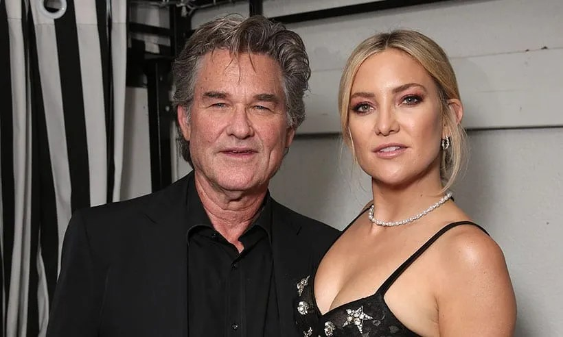 Kate Hudson And Her Father