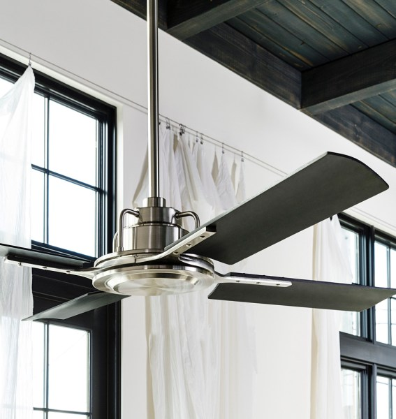 Peregrine Industrial Ceiling Fan   No Light 4 Blade Ceiling Fan     Peregrine Industrial Ceiling Fan   No Light 4 Blade Ceiling Fan    Rejuvenation