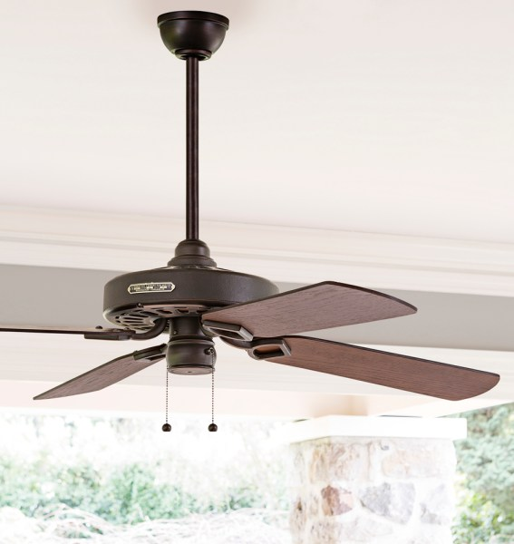 Heron Ceiling Fan   No Light 4 Blade Ceiling Fan   Rejuvenation