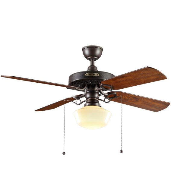 Heron Ceiling Fan with Classic Opal Shade   4 Blade Ceiling Fan with     Heron Ceiling Fan with Classic Opal Shade   4 Blade Ceiling Fan with Light  Kit   Rejuvenation