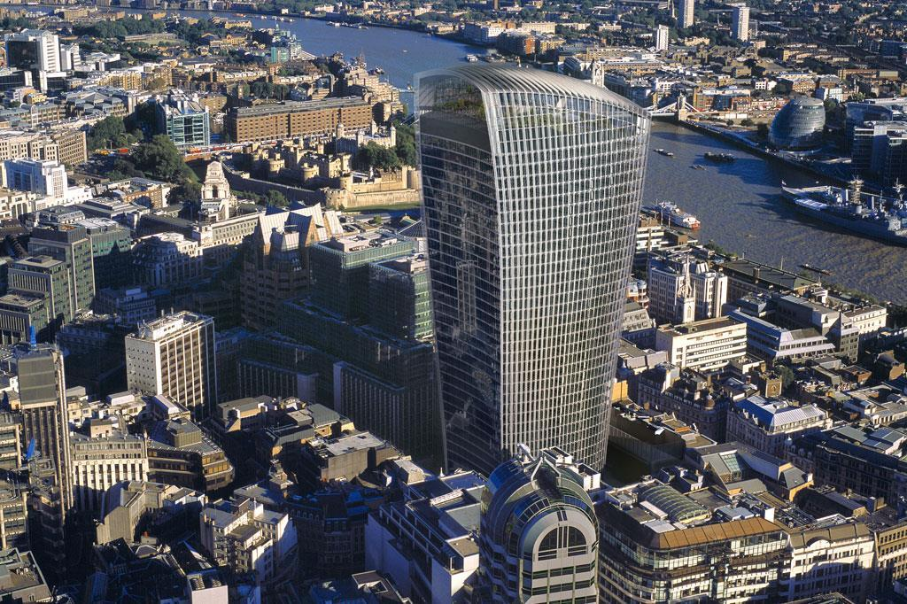 Walkie Building Burn London Talkie
