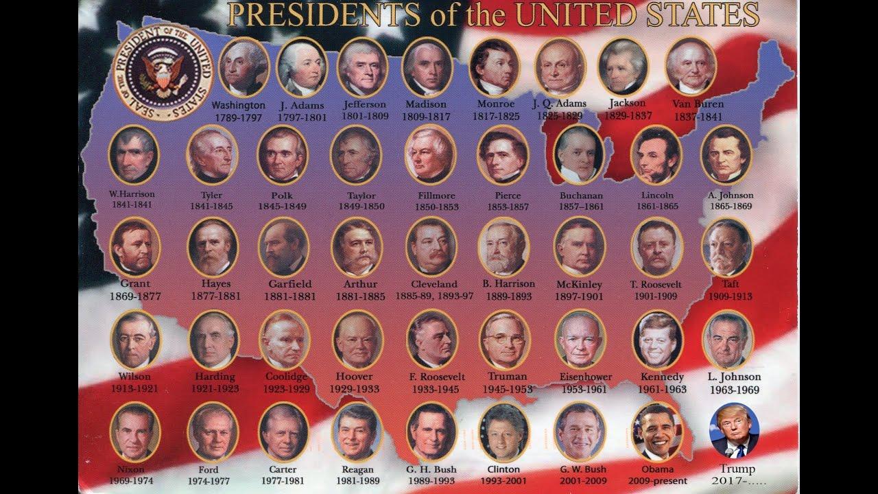 44 Us Presidents Order