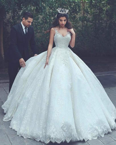 lace wedding gowns princess wedding dress ball gowns wedding dress     Product original 949217 252199 1490863347 44567c1c9f094286c964b616103a81c7  original