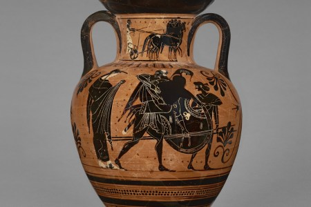 Greek Vase Painting Greek Letters Electronic Wallpaper