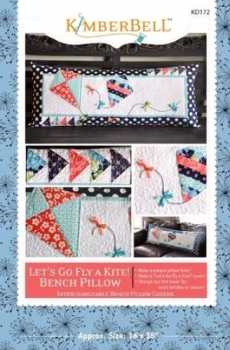 Lets Go Fly A Kite Bench Pillow Pattern By Kimberbell
