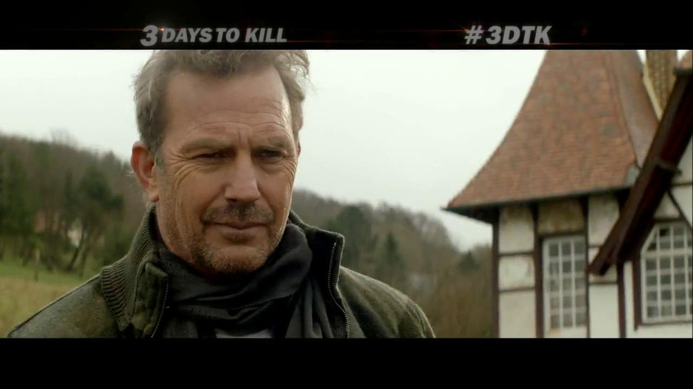 3 Days To Kill Tv Movie Trailer Ispot Tv