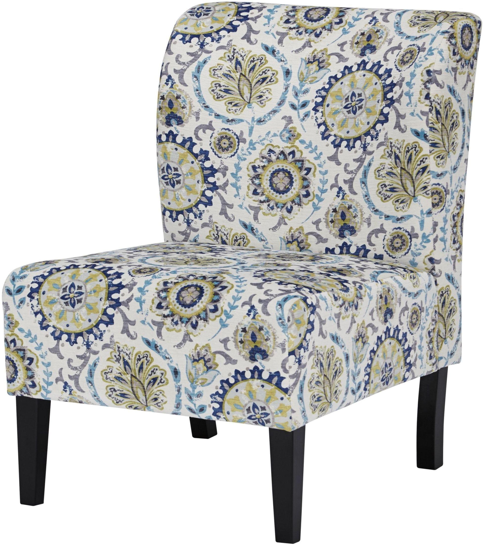 Blue Green Accent Chair