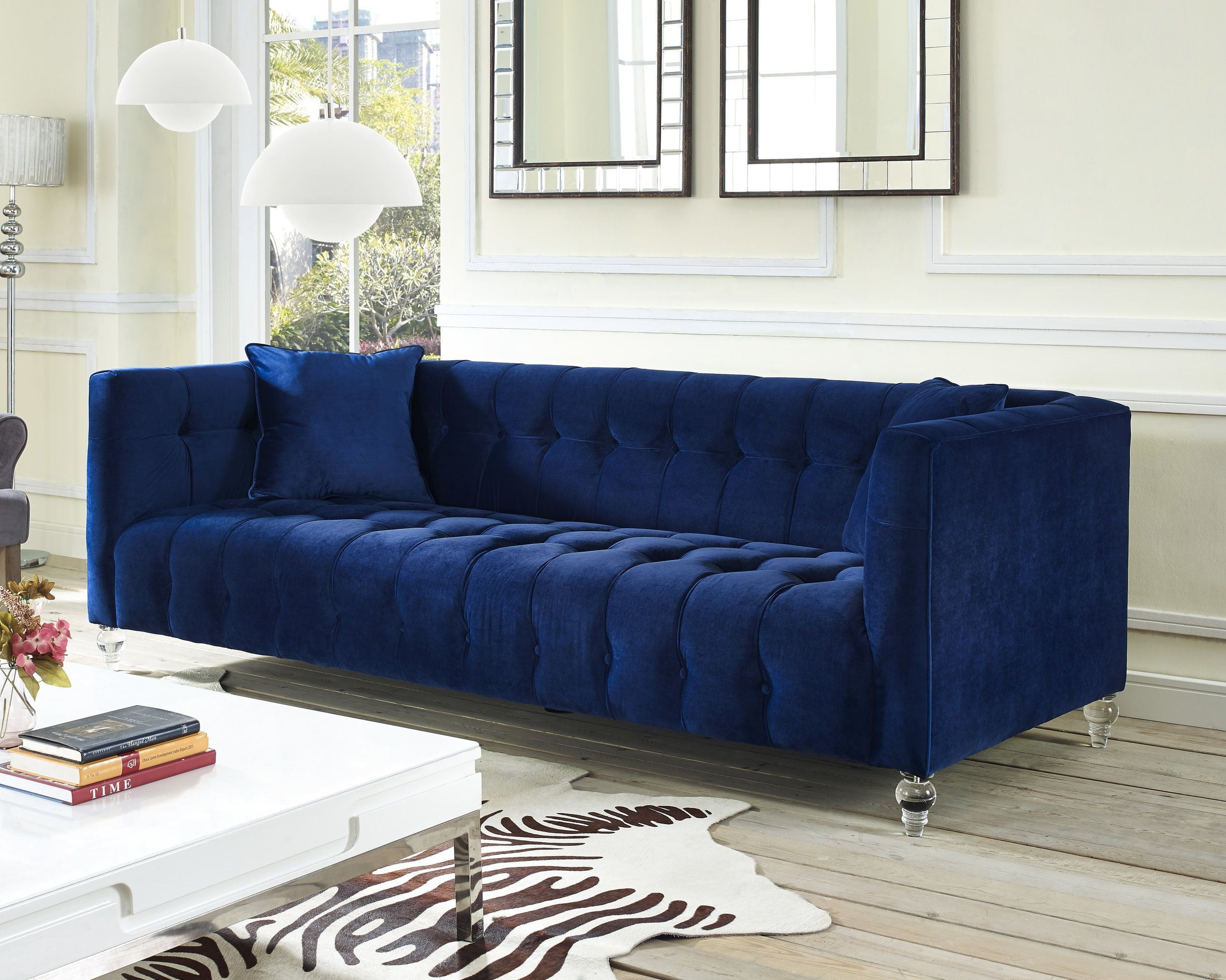 Navy Blue Sofas Sale