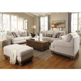 Harleson from Signature Design by Ashley Harleson Wheat Living Room Set